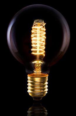 Cleveland Vintage Lighting Edison Bulb Double Swirl