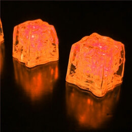 Light Cubes Orange 3 function (8 cubes)