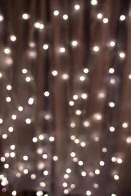 Light Curtain LED 3 x 6ft Warm White