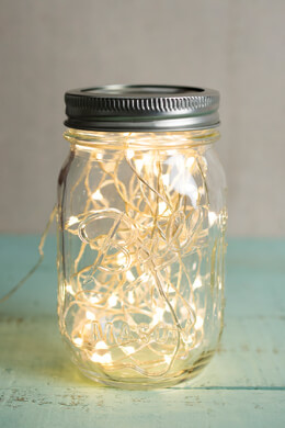 Light String 15ft 50 LED Warm White, Silver Wire, Micro LEDs, End to End, Plug In Fairy Lights