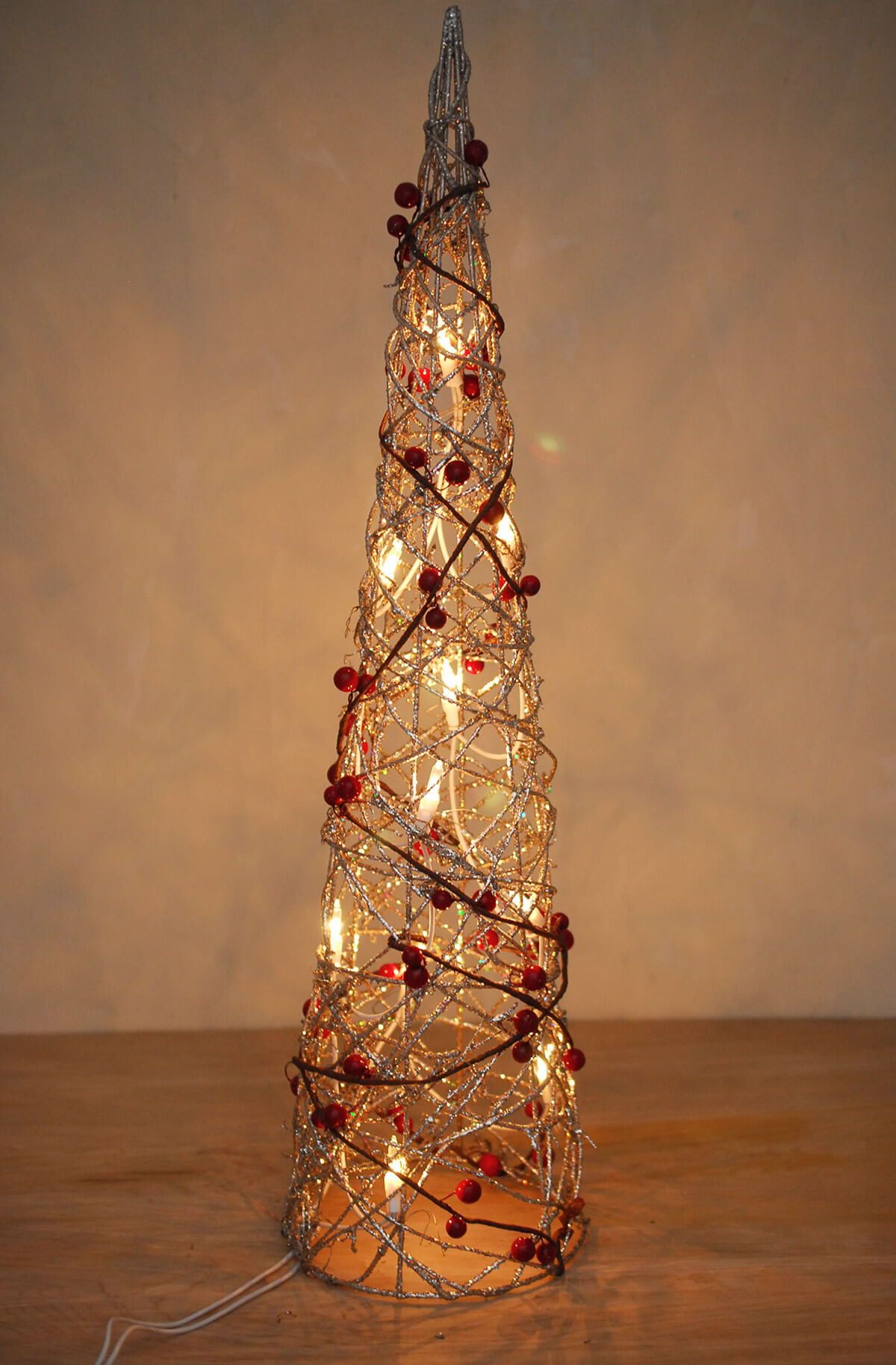 Best 28+ - Cone Christmas Tree With Lights