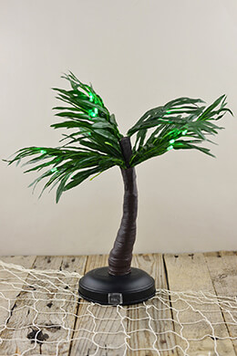 Lighted Palm Tree 15in