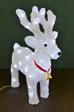 Lighted Reindeer Plug-in 14.5in