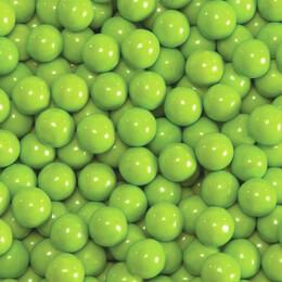 Lime Green Sixlets Favor Candy 14oz