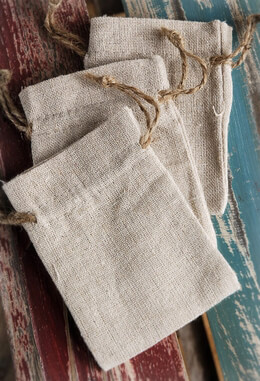 Linen Bags 3x4 (12 bags/pkg)