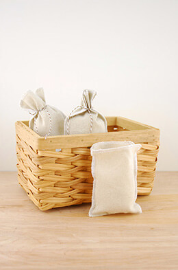 Linen Bags White 3.5x5in (Pack of 12)