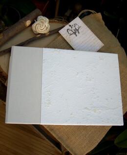 Guest Book Handmade Linen