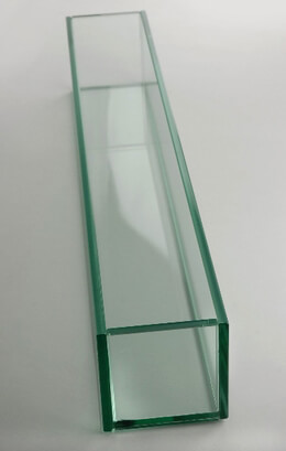 Long Glass Vase 24in