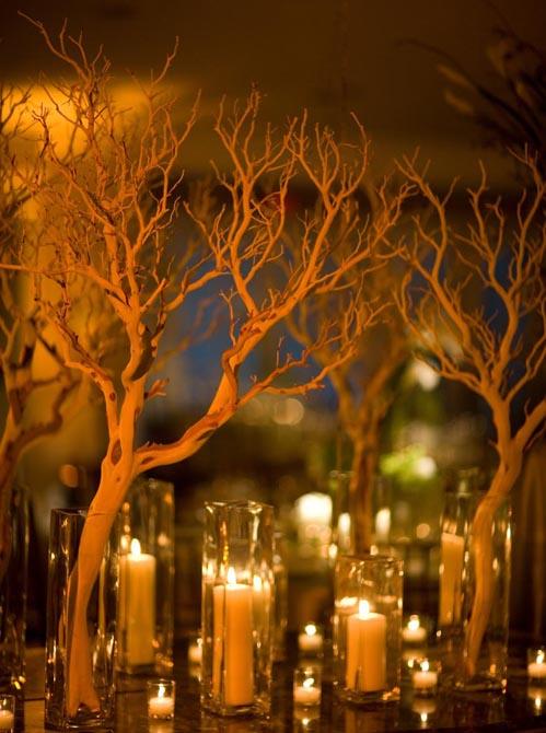 """Manzanita Branches Sanded 21-38"""" Natural"""