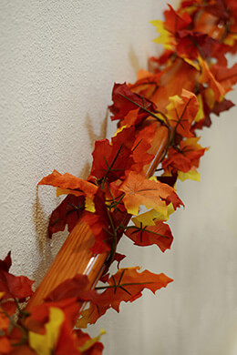 Maple Garland 9ft