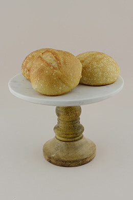 Marble Cake Stand 8in