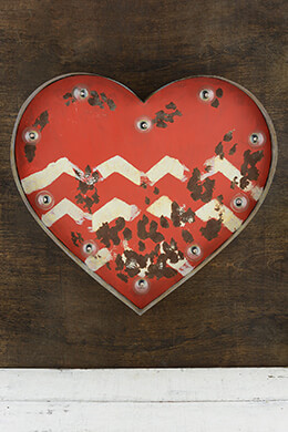 Marquee Heart Sign 14in