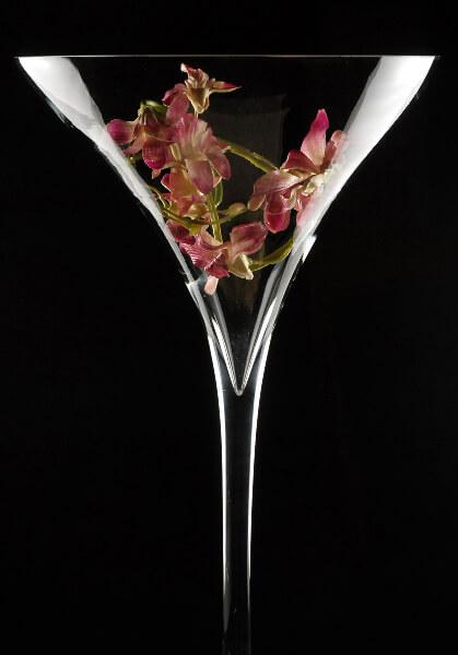 Martini Glass Vase 27in