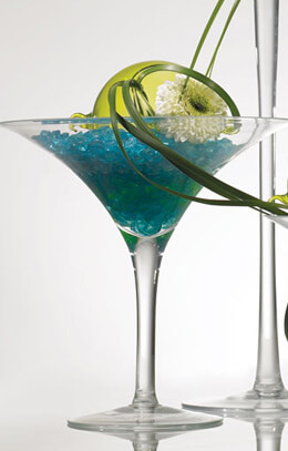 Martini Glass Vases & Candleholders  8x8