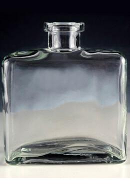 12 Clear Glass Matic 8.5 ounce Bottles