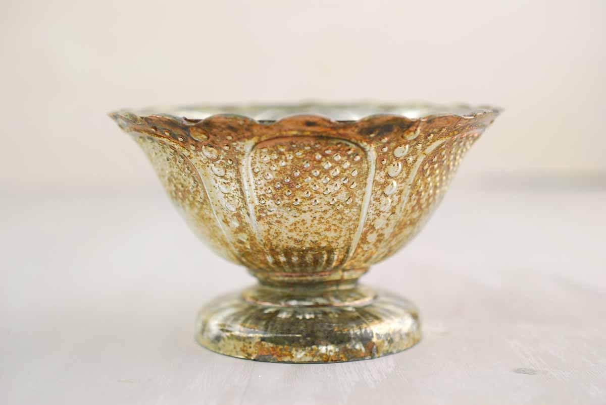 Mercury Glass Fairytale Compote