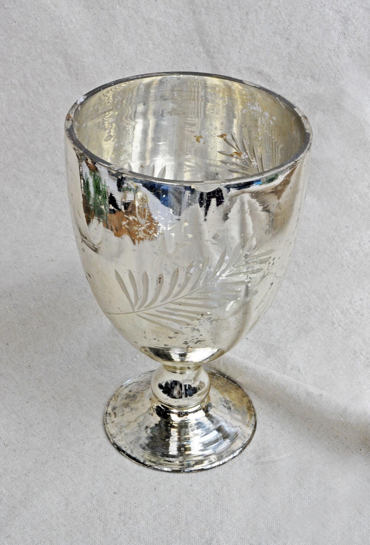 Silver Mercury Ivy Vase 6 75 Quot