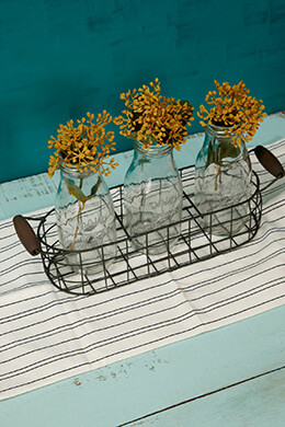 Metal Basket with Handles