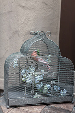 Metal Bird Cage 17in