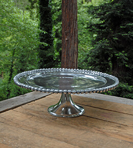 Metal Cake Stand 14in