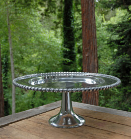 Metal Cake Stand 18in