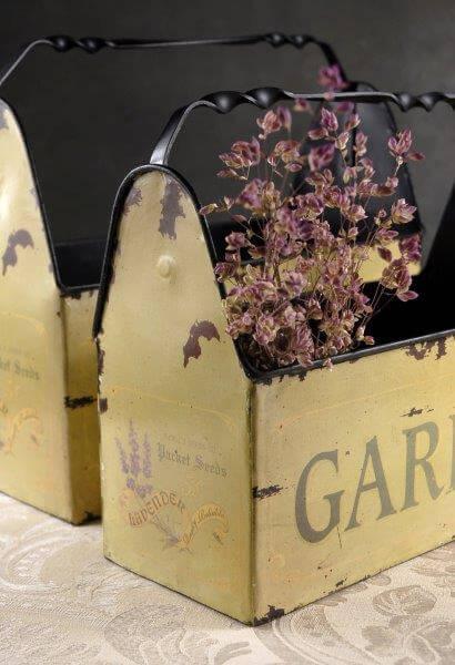 Metal Garden Caddies (set of 2)
