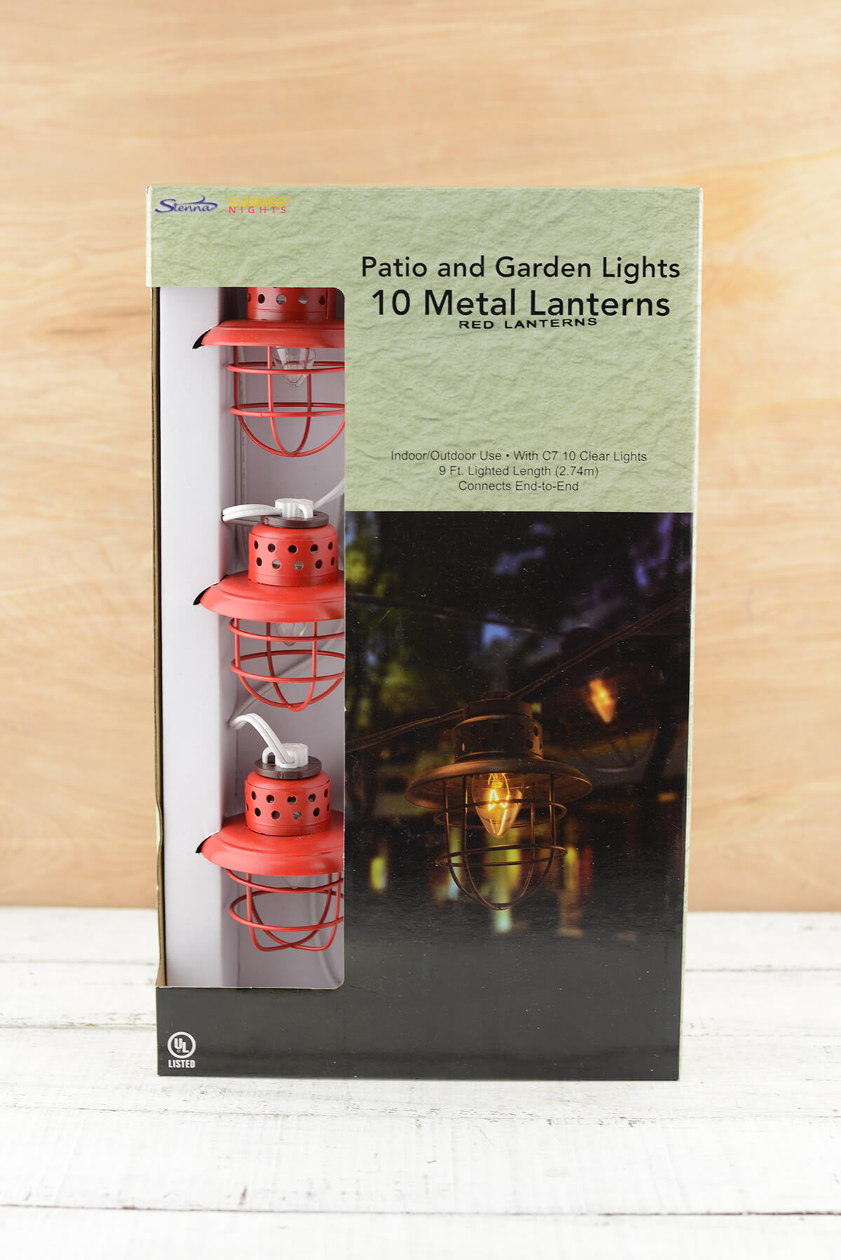 Nautical Cage String Lights : Nautical Cage String Lights Red 10ct