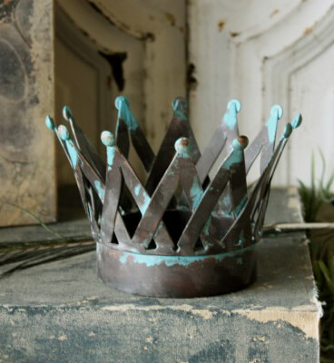 Vintage Metal Crown