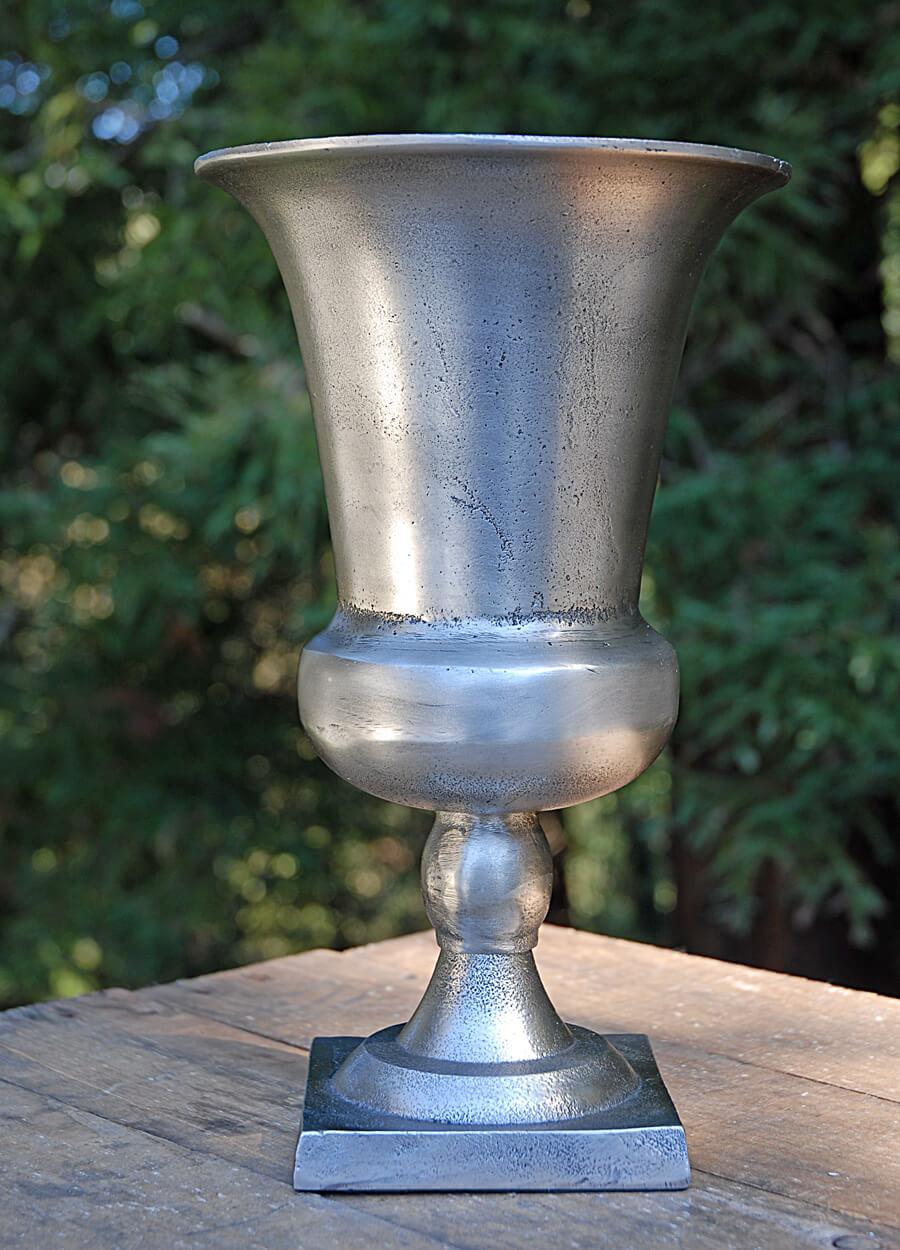 "Metal Trophy Vase 11.5"""