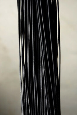 "Midollino Sticks 42"" Black (100 -150 sticks) 1 lb. bundle"