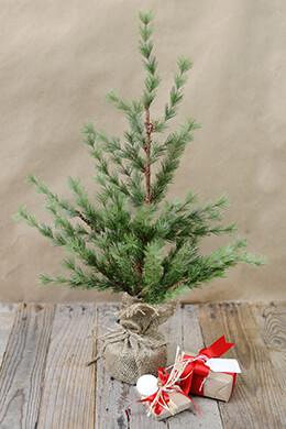 Mini Artificial Pine Tree 24in