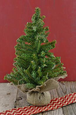 Mini Christmas Tree Artificial 18in