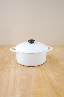 Mini Cocotte Stoneware White