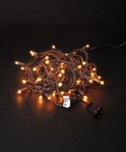 Mini Globe String Lights Warm White (50 bulbs)
