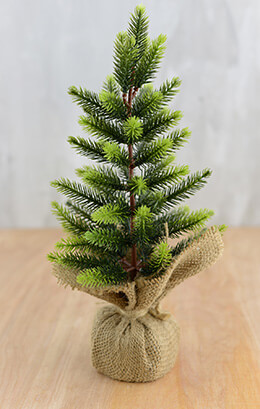Mini Pine Tree Artificial 12in