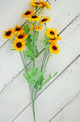 Mini Sunflower Spray 29.5in