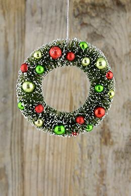 Mini Wreath Ornament 5in