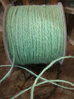 Mint Green Jute Twine Cording 100 yds