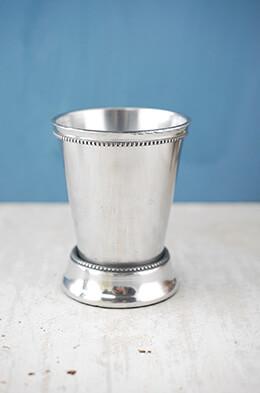 "4 Mint Julep Cup Vases 4.25"""