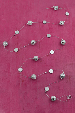Mirror Ball Garland 6ft