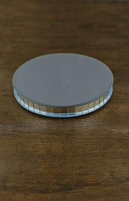 Mirror Riser Round 8in