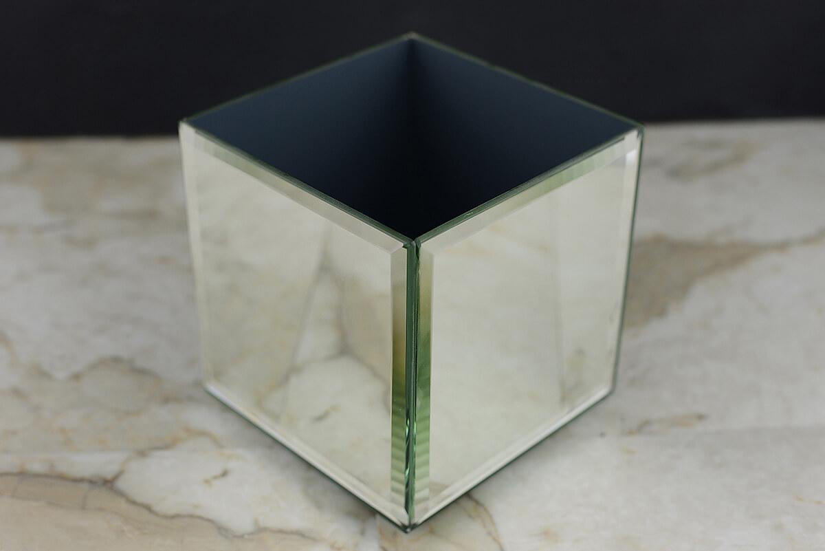 Mirror Cube Riser 5 Inch Square
