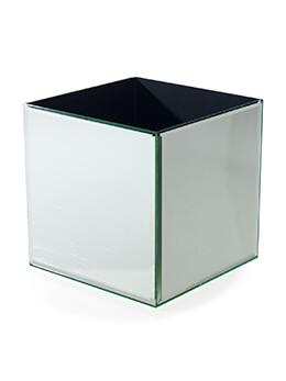 Mirror Vase 8in