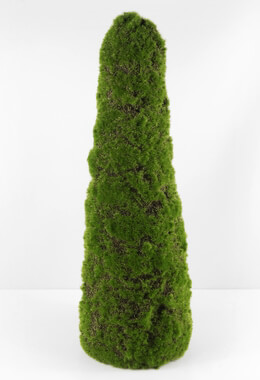 Artificial Moss Cone 20in