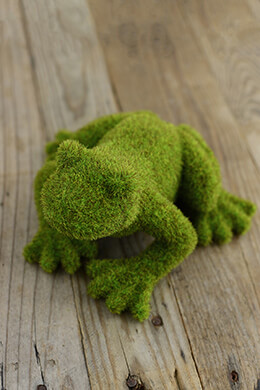 Moss Frog 4.25 x 7.75 x 7in