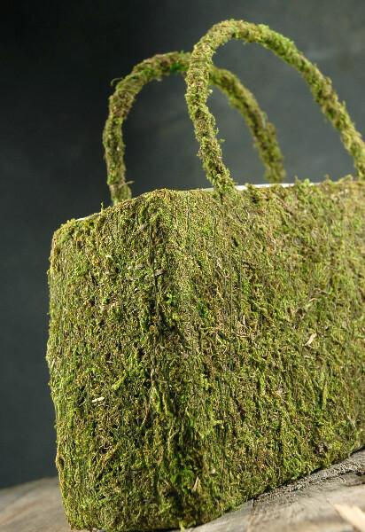 Moss Purse 12in
