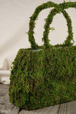 Moss Purse 9.75in