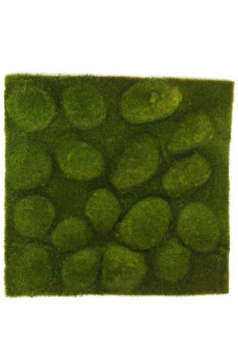 Faux Cushion Moss Sheets 14X14  Stone