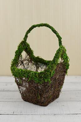 Moss & Vine Basket 8.5in
