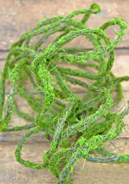 Artificial Moss Vine Garland 30ft